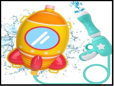 The best water gun for kids with a backpack