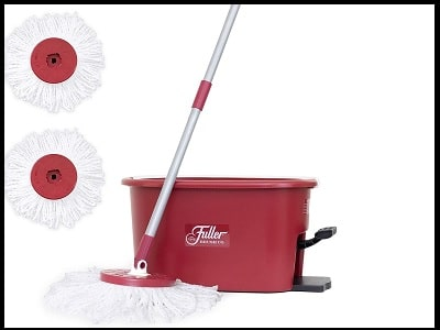 Fuller-Brush-Spin-Mop-Exclusive-Bucket-System