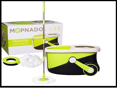 Second Top Rated Deluxe Spin Mop